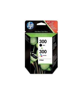 Pack Ahorro HP Nº300 Negro/Tricolor