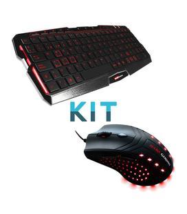 Mars Gaming KIT Teclado MK0 + Ratón MM0