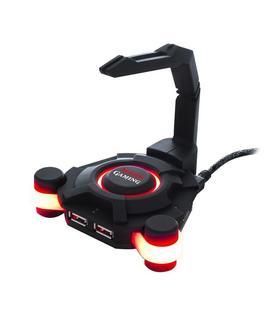 Mars Gaming MMS1 Hub USB + Soporte de Cable de Ratón