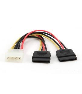 Cable de Alimentación SATA Doble 15cm