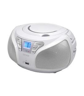 Denver Radio CD TCU-206 MP3 Blanco