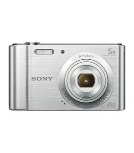 Sony Ciber-shot DSC-W800 20MP Plata