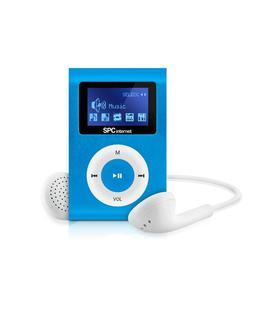 SPC Reproductor MP3 Sport Clip 4GB Azul