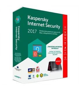 Kaspersky Internet Security Multi-Device 2017 3 Dispositivos + Tarjetero Antirrobo
