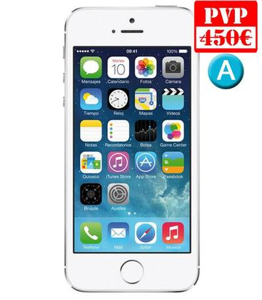 Apple iPhone 5S 16GB Plata Renew