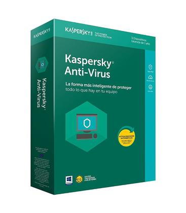 Kaspersky Anti-Virus 2018 3 PCs