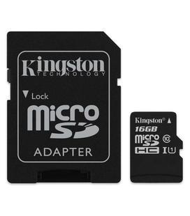 Kingston Canvas Select MicroSD 16GB + Adaptador