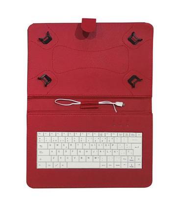 "Talius Funda Tablet CV-3006 Teclado 10"" Roja"