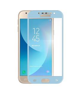 Cristal Templado Galaxy J3 Azul