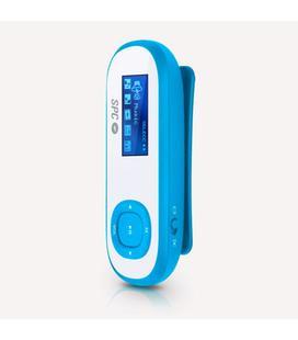 SPC Reproductor MP3 Sport con Podometro 8GB Azul