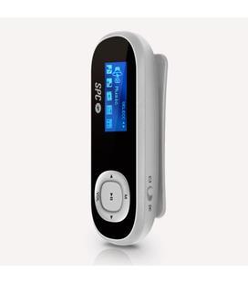 SPC Reproductor MP3 Sport con Podometro 8GB Silver