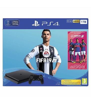 Sony PS4 PlayStation 4 Slim 1TB Edición Limitada + Fifa 19