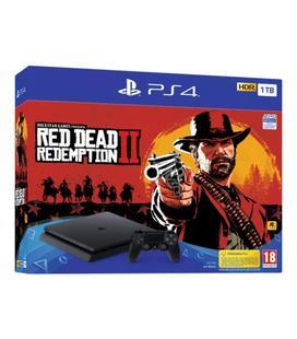 Sony PS4 PlayStation 4 Slim 1TB Edición Limitada + Red Dead Redemption 2 + Spiderman
