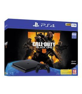 Sony PS4 PlayStation 4 Slim 1TB Edición Limitada + Call Of Duty 4