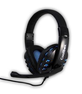Auriculares con Micrófono Coolbox Bluelight G2