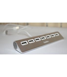 Coolbox Hub ALU2 7 Puertos USB 2.0